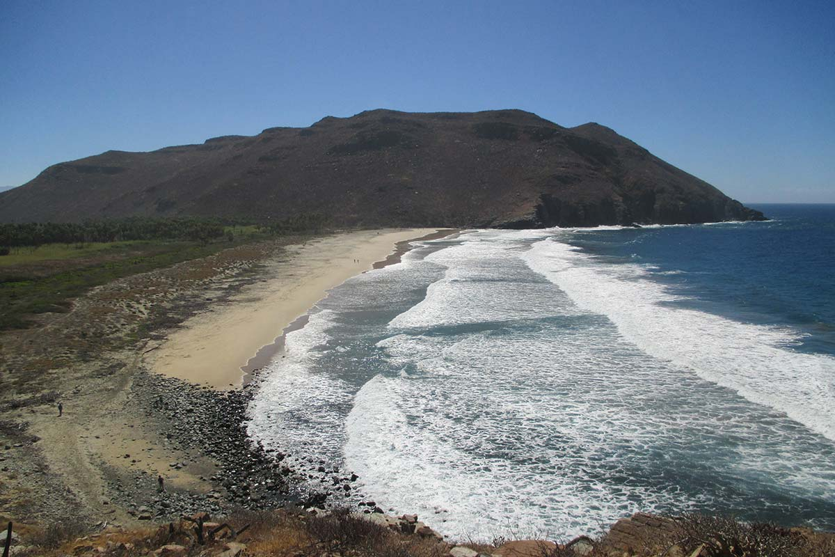 Weather in todos Santos, waves and wind